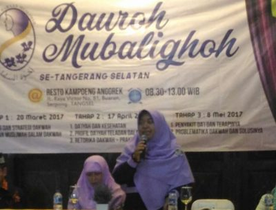 PD Salimah Tangsel Targetkan Lahir 400 Muballighoh Baru