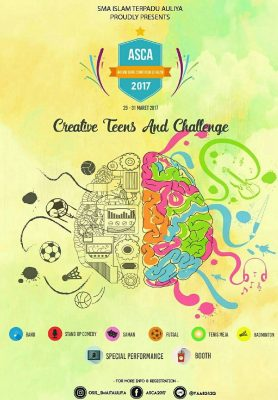 SMAIT Auliya Proudly Present Art And Sport Competition