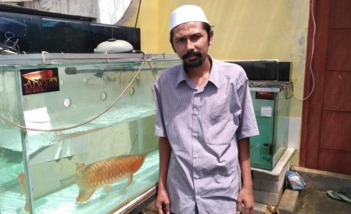 Pengusaha Ikan Arwana yang Hafizh Quran, Kini Memiliki Omset Ratusan Juta