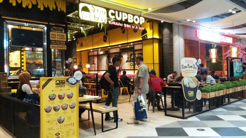 Cupbop: Makanan Korea Versi Barbeque Hadir di Living World