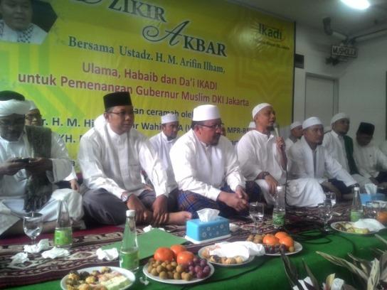 Ikatan Dai Indonesia Wilayah DKI Jakarta Nyatakan Dukungannya Terhadap Calon Gubernur Muslim