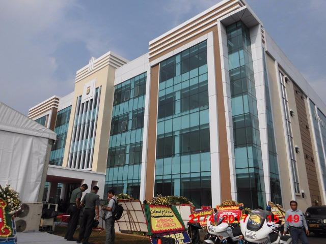 Pembangunan Gedung Baru Polres Tangsel Habiskan Dana 53 Milyar