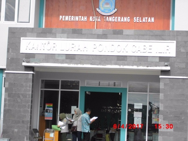 Kepemimpinan Lurah Yahman, Dikeluhkan Warga Pondok Cabe Ilir