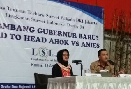LSI Denny JA: Ada 4 Isu Utama yang Menarik dari Hasil Survei, Jelang Pilkada DKI Jakarta