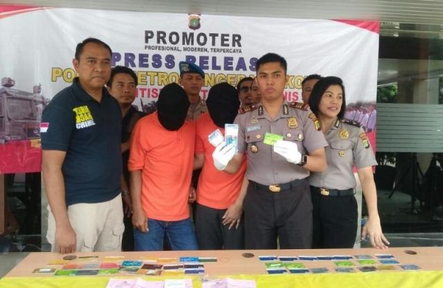 Pelaku Pembobol Mesin ATM Bank Mandiri Ditangkap di Kota Tangerang