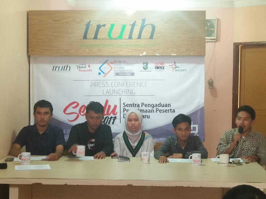 Awasi PPDB di Tangsel, Koalisi Masyarakat Peduli Pendidikan Luncurkan Layanan SENDU