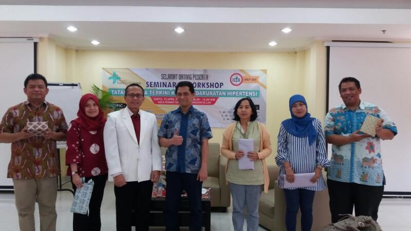 """R.S. Syarif Hidayatullah Selenggarakan Seminar dan Workshop: """"Tatalaksana Terkini Kegawatdaruratan Hipertensi"""""""