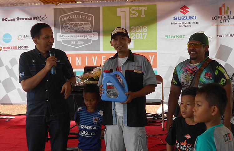 Anniversary Ke-1 Karimun Club Tangsel, Berlangsung Meriah