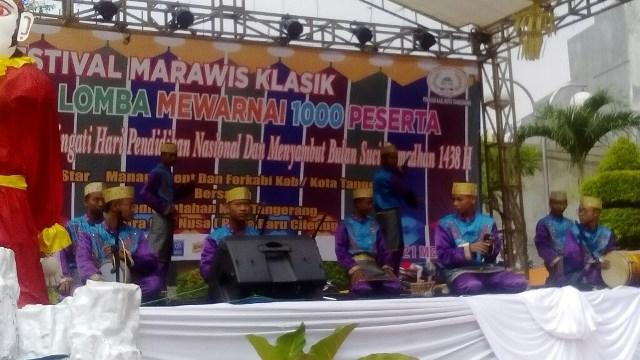 Lestarikan Budaya Betawi, Besq Star Management dan Forkabi Gelar Festival Marawis Klasik se-Jabodetabek