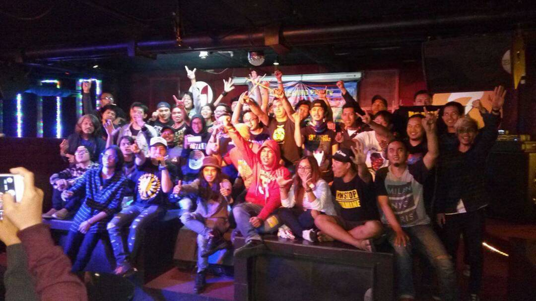 Launching Party Serendengan Grunge Digelar di JK 7 Cafe Kemang