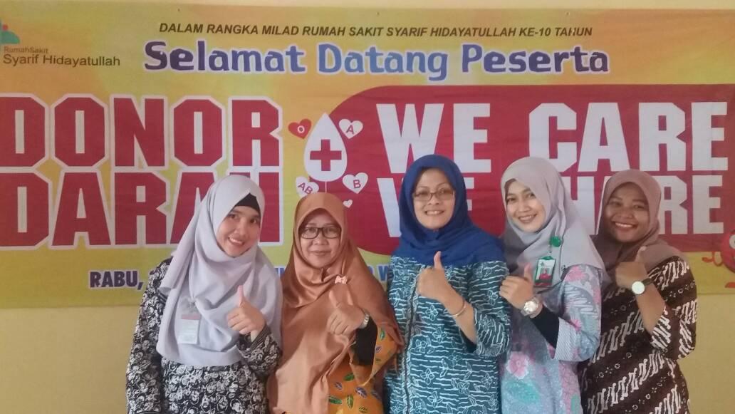 Rumah Sakit Syarif Hidayatullah (UIN) Ciputat Timur Gelar Donor Darah