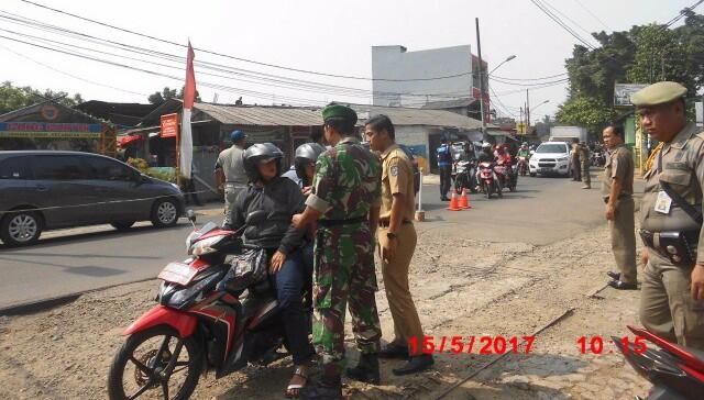 Jelang Ramadhan, Disdukcapil Tangsel Gelar Razia KTP di Ciputat