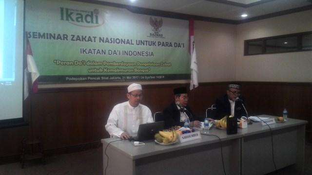 Kerjasama dengan Baznas, Ikadi Selenggarakan Seminar Zakat Nasional