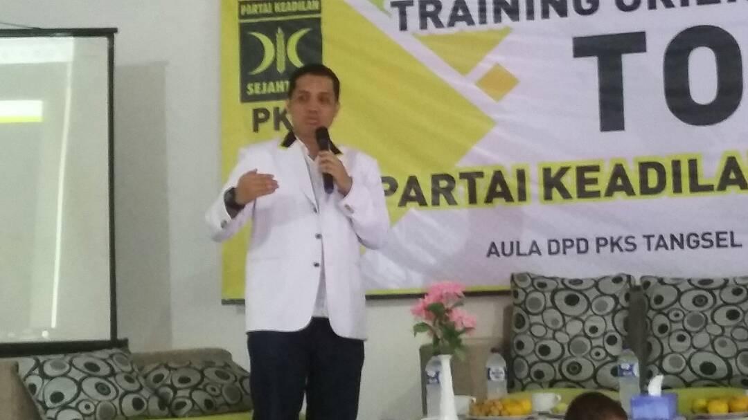 PKS Serpong Selenggarakan Training Orientasi Partai