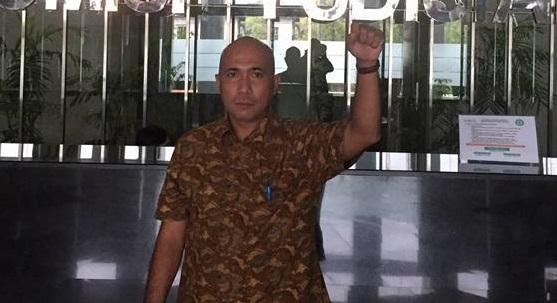Ricky Tamba Mantan Aktivis 98 Berlabuh ke Partai Gerindra