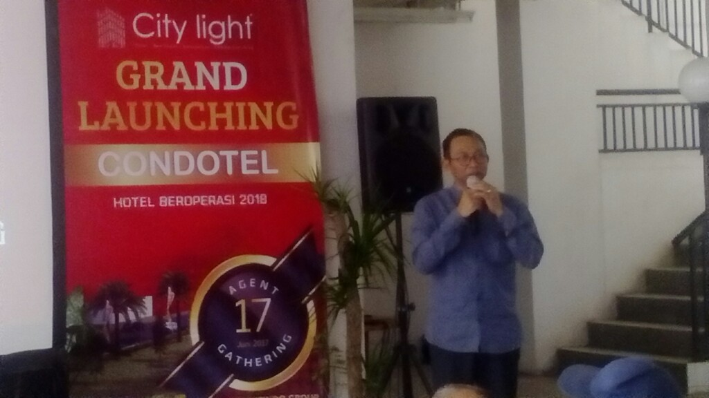 Pasarkan 60 Unit di Launching Condotel City Light, 2 Jam langsung Ludes!