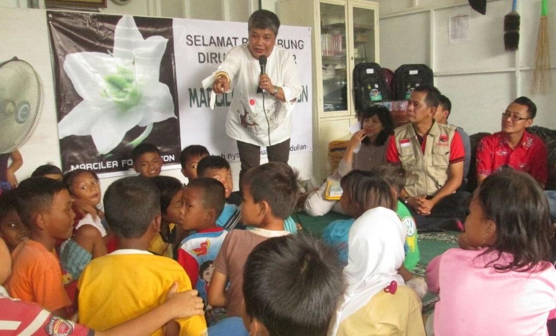 Kunjungi Pemukiman Kumuh di Tangsel, Ribka Tjiptaning Minta Pemkot Lebih Peduli