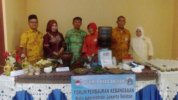Halal Bihalal, Forum Pembauran Kebangsaan Sajikan Kuliner Nusantara