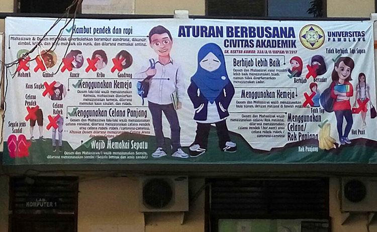 Serikat Pemuda Muslim Kecam Pelarangan Cadar di Unpam