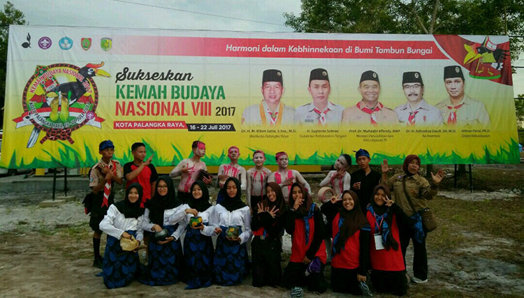 """Princess Pinus Wakili Banten Dalam Acara """"Laskar Tjilik Riwut"""""""