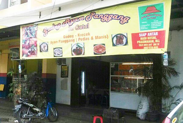 Ternyata Gudeg Nikmat Tak Hanya Ada di Yogyakarta Loh