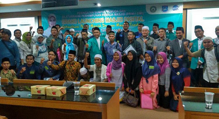 PPM UIN Syarif Hidayatullah Jakarta Bekerjasama dengan DMI Tangsel Luncurkan Aplikasi Masjid Digital