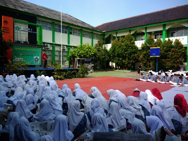 "Program ""Radar on School"" Berkunjung ke MAN 1 Tangsel"