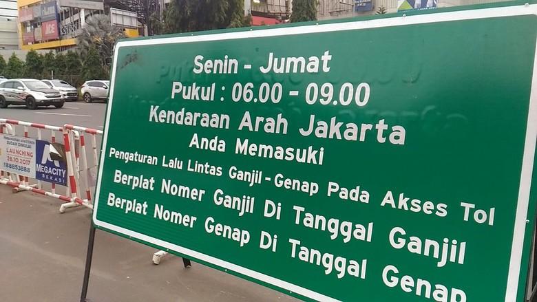 Pemberitahuan! Di Wilayah Tangerang Akan Segera Berlaku Ganjil Genap