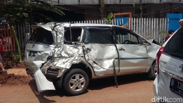 Polisi: 9 Kendaraan yang Ditabrak Bus Mayasari di Slipi