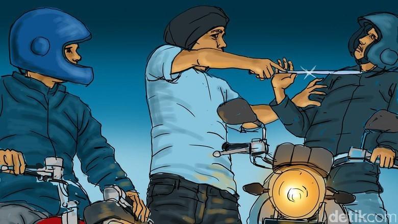 Lagi Kongkow, Ari Menjadi Korban Begal Bersenjata di Tangerang