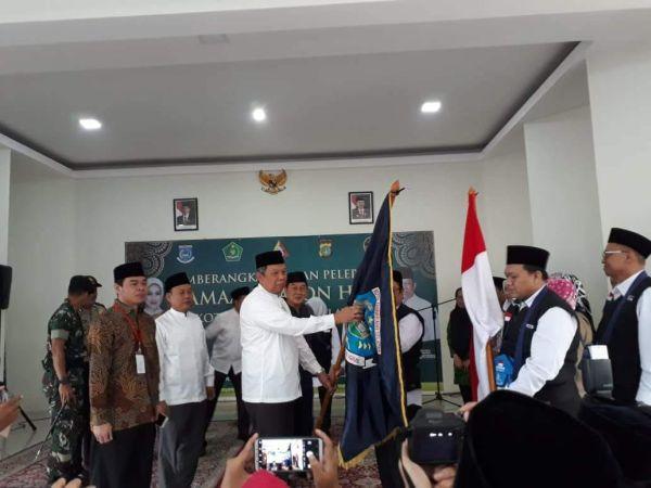 Wakil Walikota Tangsel Lepas Jamaah Haji Kloter Pertama