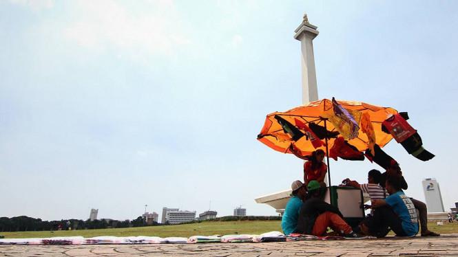 Jakarta Hari Ini Cerah Berawan, Tidak Ada Mendung