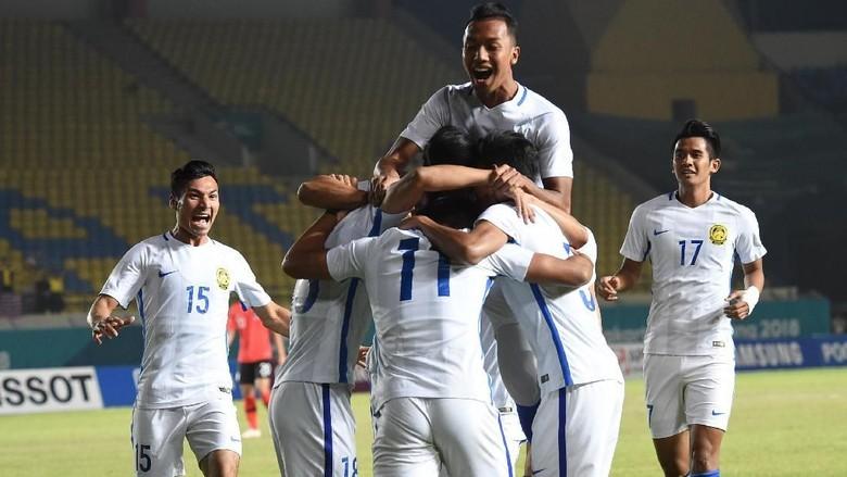 Hasil Sepakbola Asian Games 2018: Korsel Dikalahkan Malaysia 1-2
