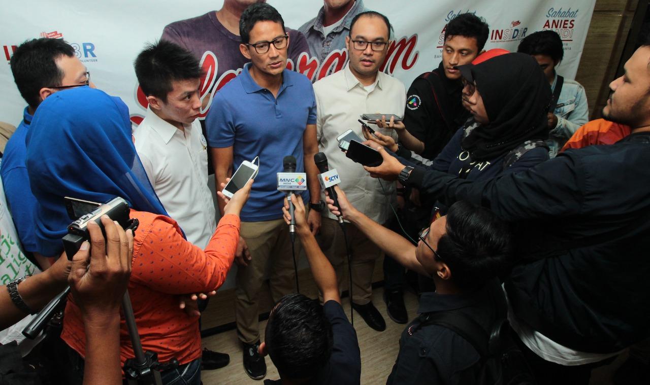 Bukan Hanya Saat Asian Games 2018, Tim Digital Prabowo-Sandi Siap Kampanye Sejuk Selama Pilpres