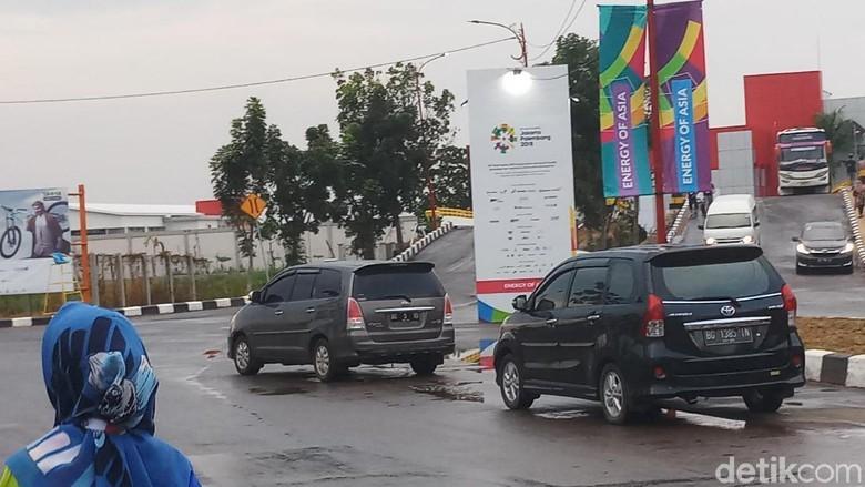 Asian Games 2018, Jakabaring Green Sport City dan Mobil-Mobil Liar Tersebut