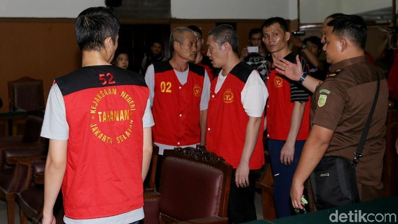 Pengadilan Tinggi Jakarta Hukum Mati 8 Penyelundup 1 Ton Sabu