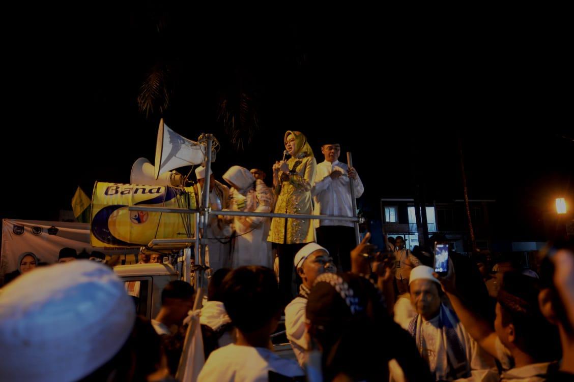 Sekitar 1000 Peserta Lebih Ikuti Pawai Obor di Pamulang