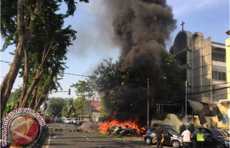 Pelaku Teroris Surabaya Dipindahkan ke Jakarta