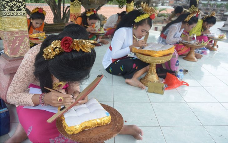 Gubernur Bali Meresmikan Penggunaan Aksara di Bandara