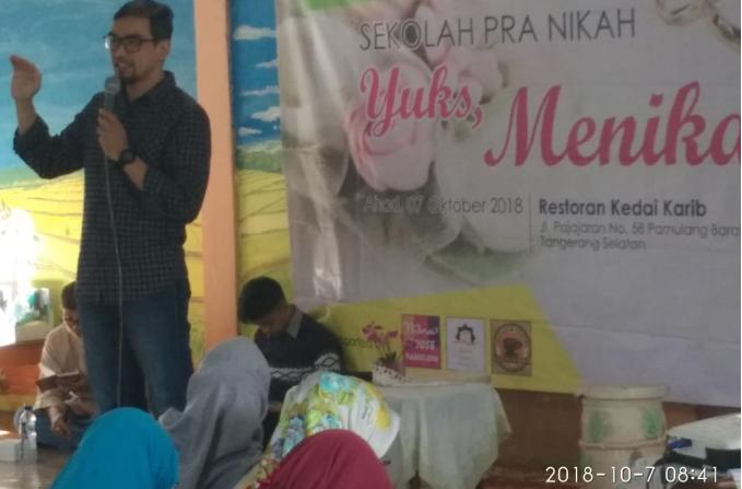 RKI Pamulang Selenggarakan Sekolah Pra Nikah Bagi Para Pemuda Usia Menikah