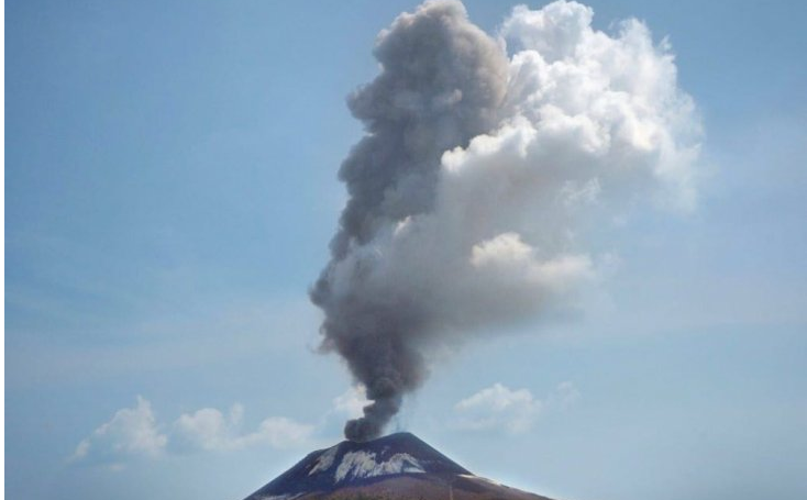 Gunung Anak Krakatau Mengalami 101 Kali Letusan