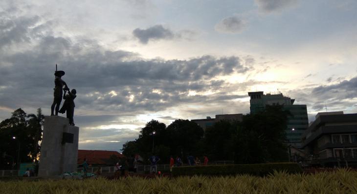 BMKG Memperkirakan Siang Ini Hujan di Jakarta