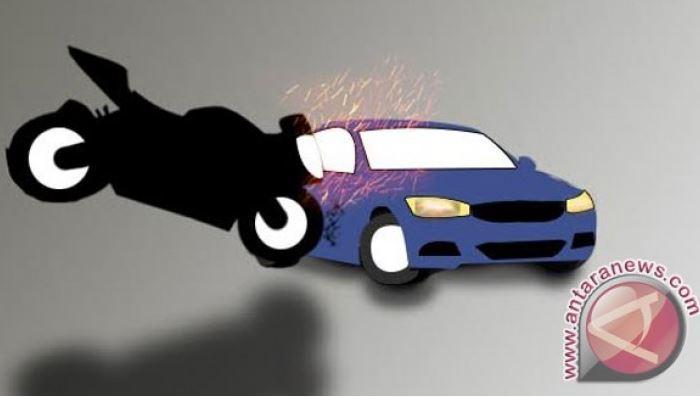 Pelajar Dibawah Umur Nekat Membawa Mobil Lalu Tabrak Pengendara Motor