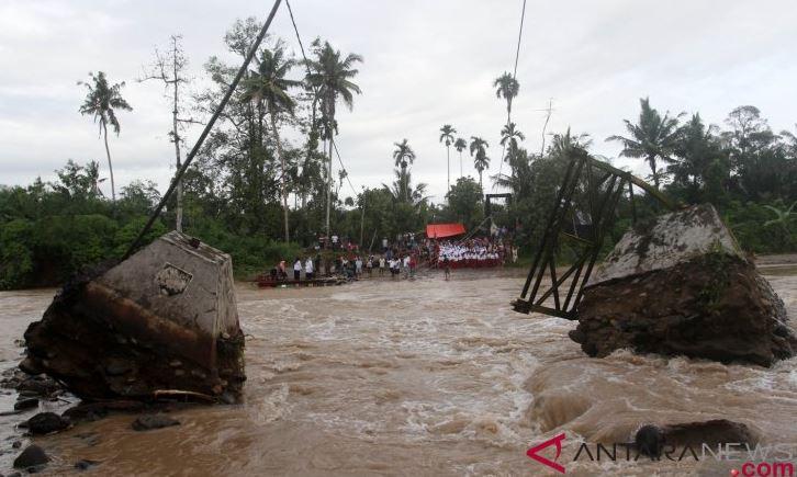 Banjir di Pasaman Barat Berangsur Surut