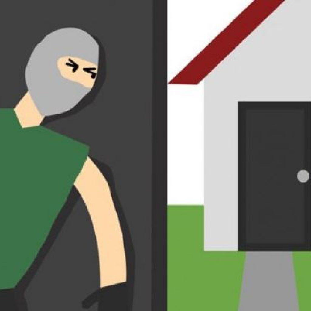 Karena Melawan, Polisi Tempak Pembobol Rumah