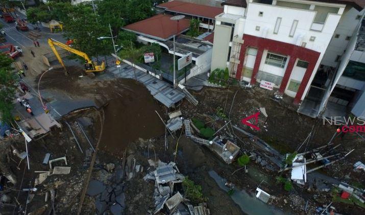 RS Siloam Minta Untuk Tidak Dikaitkan Dengan Amblesnya jalan Raya Gubeng