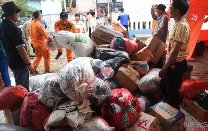 Pusat Logistik Banten Menyalurkan Bantuan Kepada 29 Posko Bencana