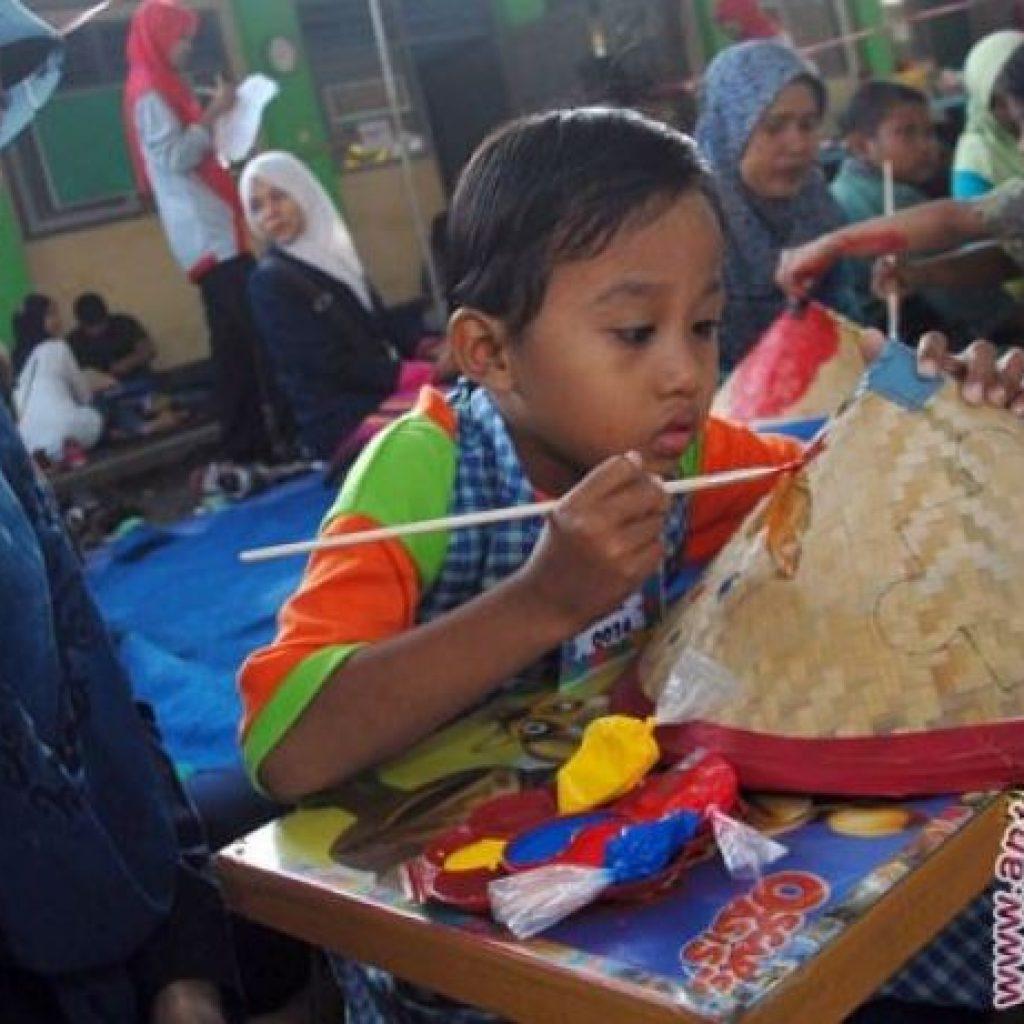Sejumlah Karya Dan Keterampilan Anak Autis Dipamerkan Di Pekanbaru