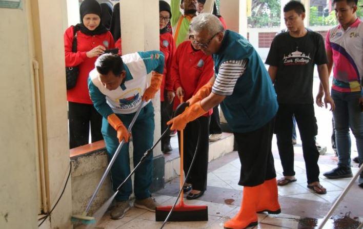 Pemerintah Kota Jakut Mencanangkan Gerakan Bersih-bersih Rumah Ibadah