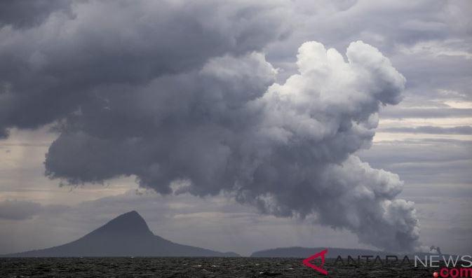 Kegempaan Tremor Terus Dialami Gunung Anak Krakatau